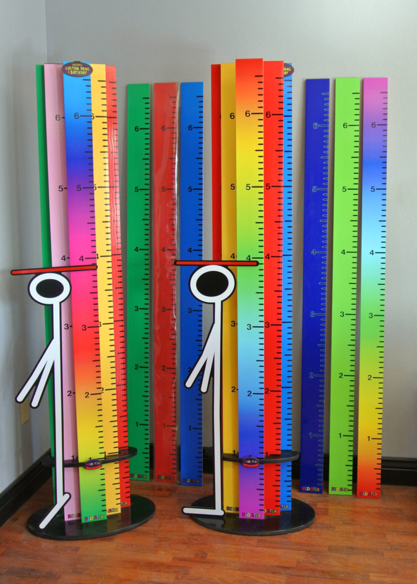 Kid Stix - the ultimate in calibrated stickery!